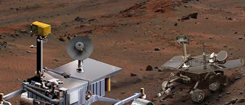 "Der Rover ""Mars Science Laboratory"" (Computergrafik)"