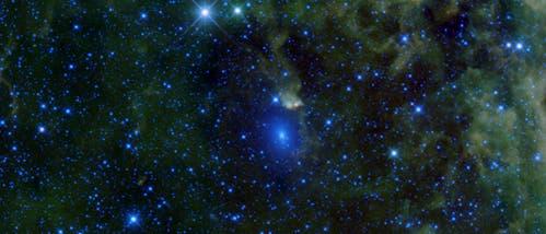 Die Galaxien Maffei 1 und 2 im Sternbild Kassiopeia