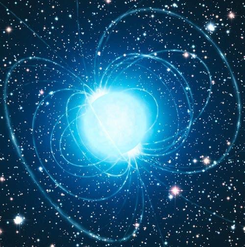 Magnetar (künstlerische Darstellung)