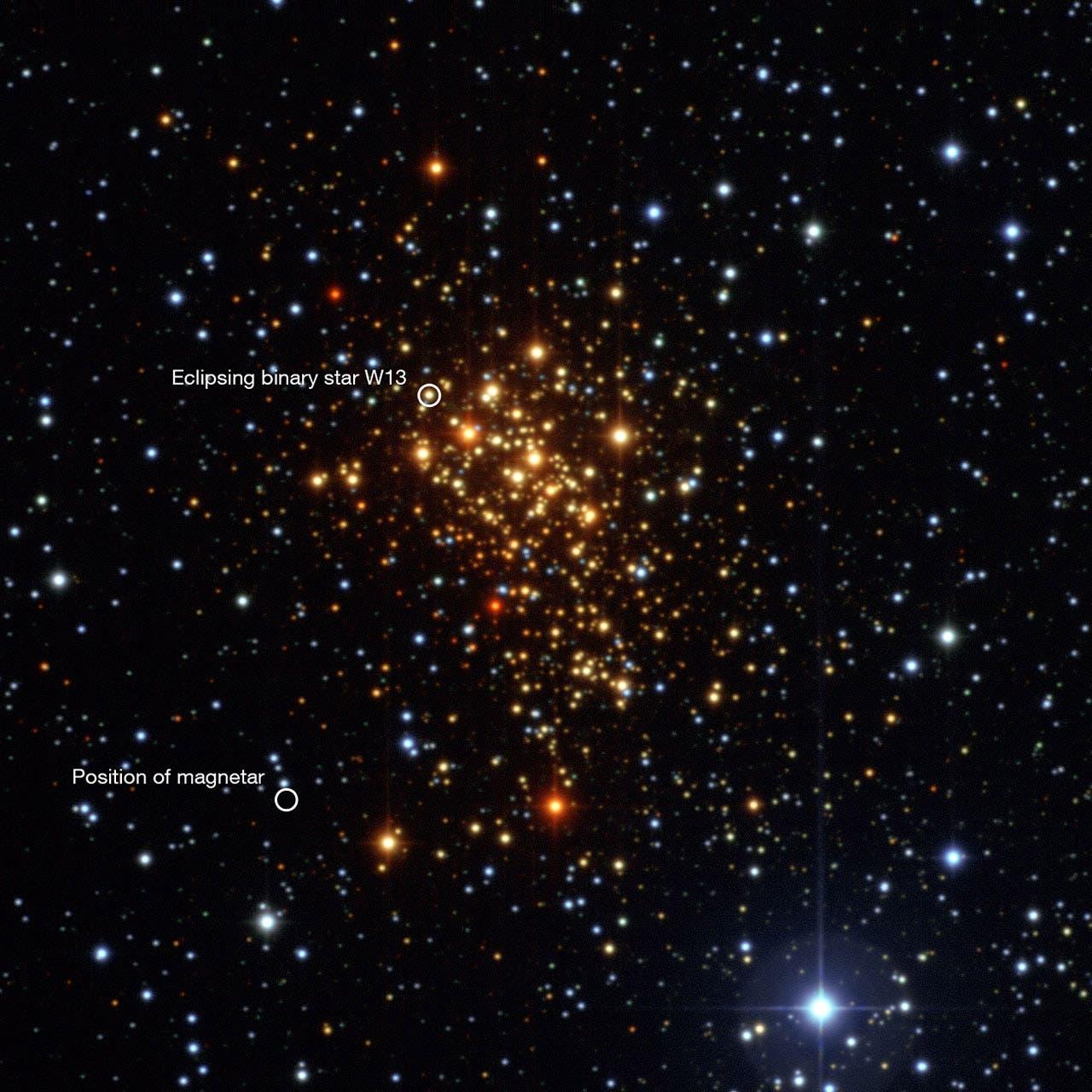Der offene Sternhaufen Westerlund 1