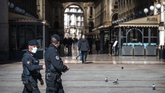 Mailand am 11. März 2020: Die Stadt steht wegen Corvid-19 fast still