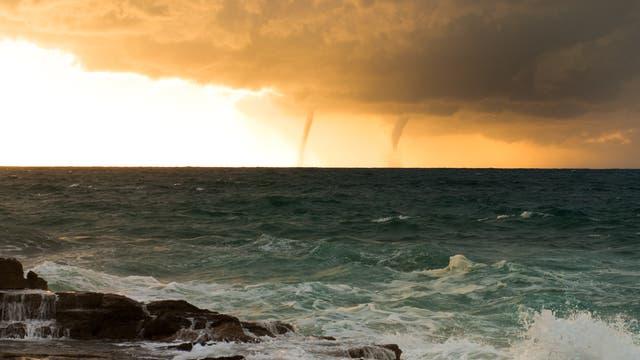Schlechtwetterfront vor Mallorca (Archivbild)