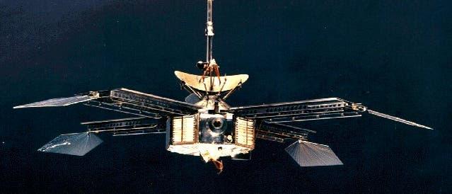 Die baugleichen Sonden Mariner 3 und 4