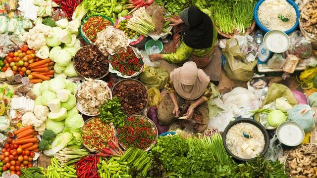 Markt in Asien