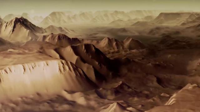 Standbild aus Mars-Express-Film des DLR