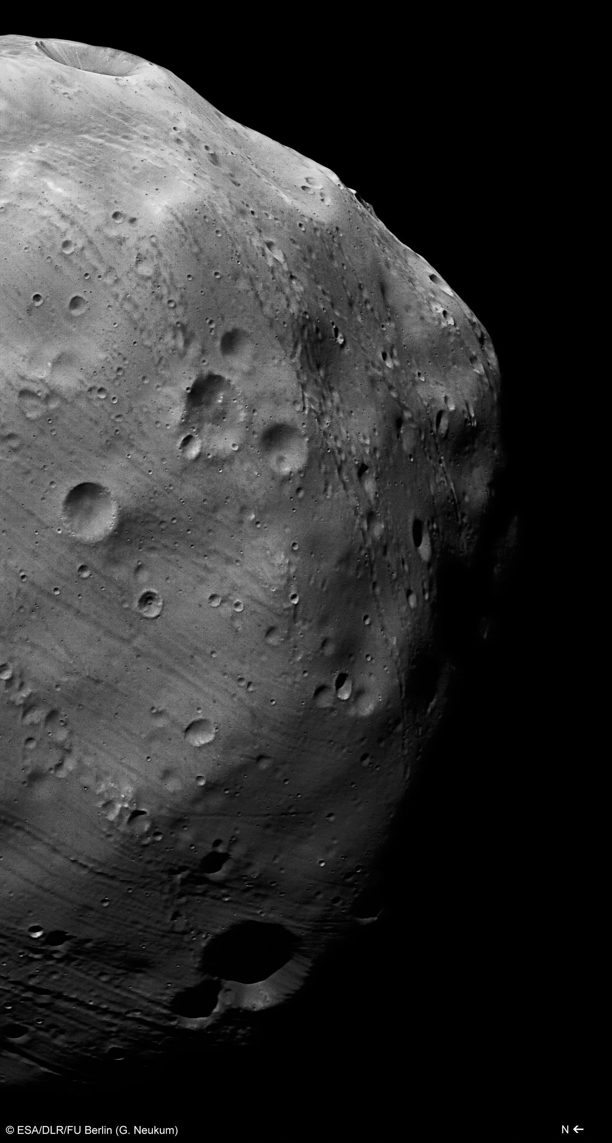 Übersichtsaufnahme von Phobos