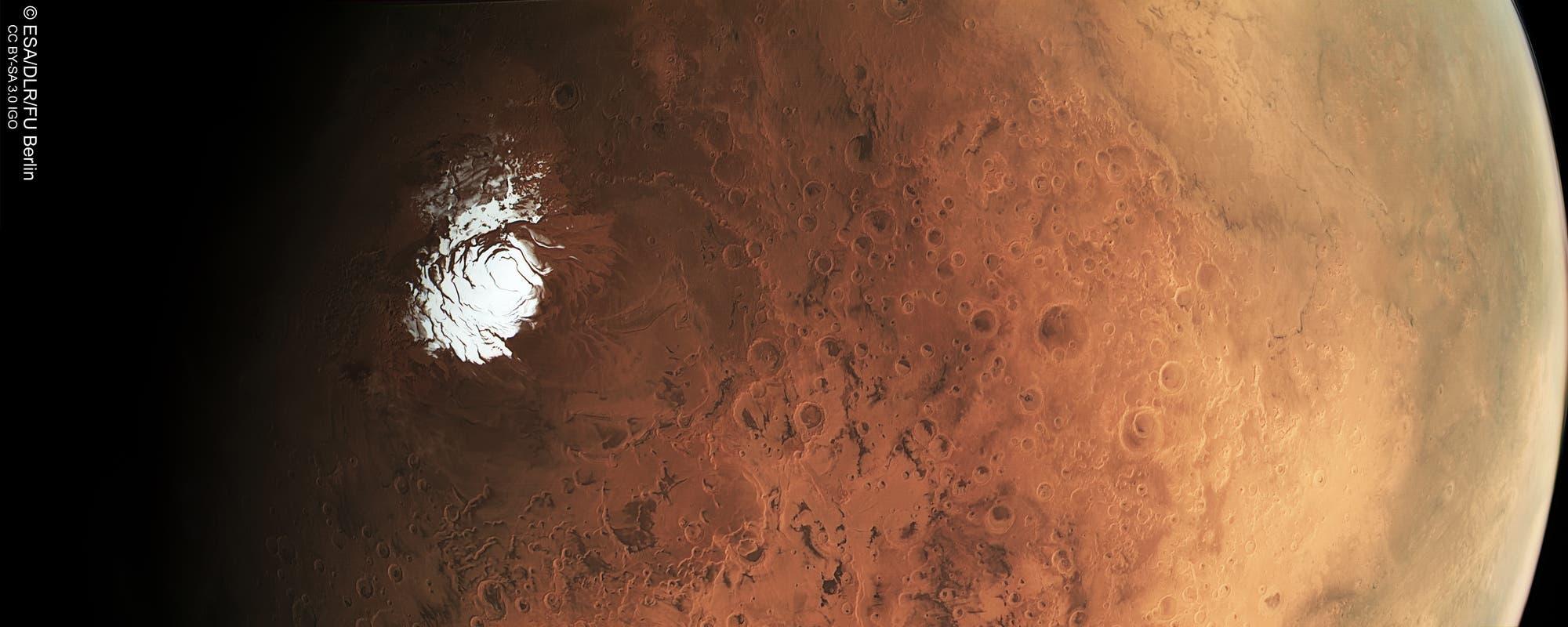 Mars-Südpol