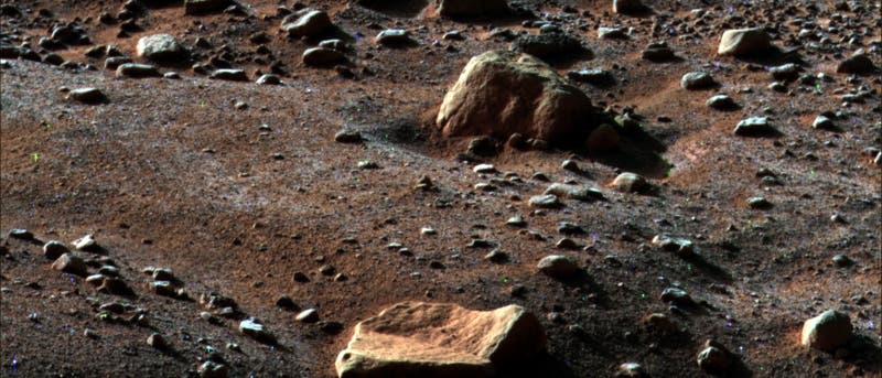 Der Herbst naht auf dem Mars