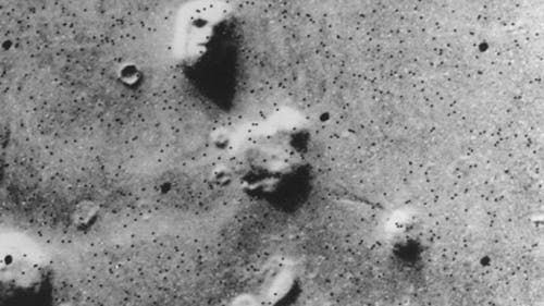 """Das """"Marsgesicht"""" von Viking 1"""