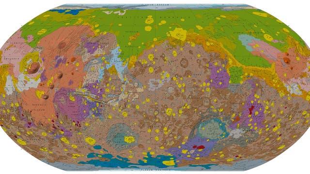 Der Mars im Detail