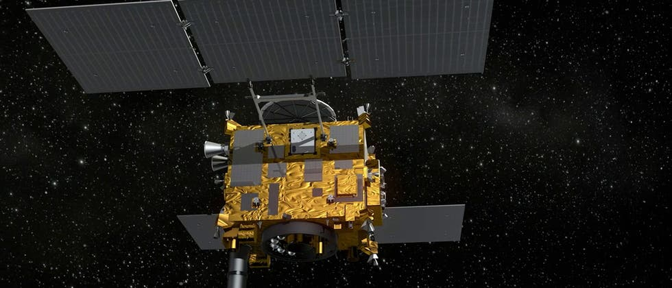 Die japanische Asteroidensonde Hayabusa-2