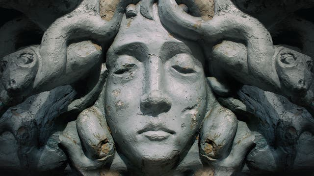 Kopf der Medusa