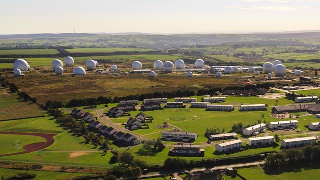 NSA Luftwaffenstützpunkt Menwith Hill Harrowgate, North Yorkshire, England