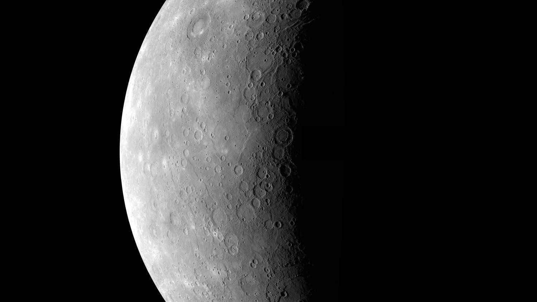 Die Oberfläche von Merkur