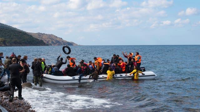 Migranten Boot