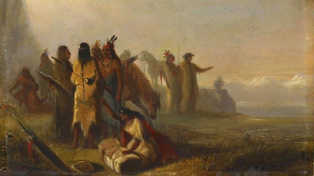 Die HBC handelte mit den Ureinwohnern, zudem besorgten Trapper Pelze aus der Wildnis