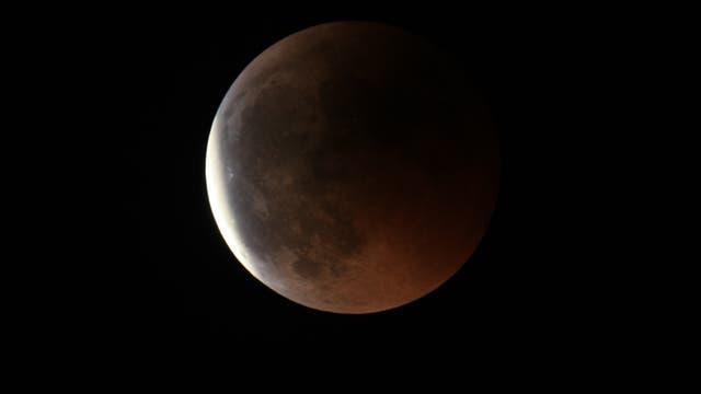 Die totale Mondfinsternis im Jahr 2011