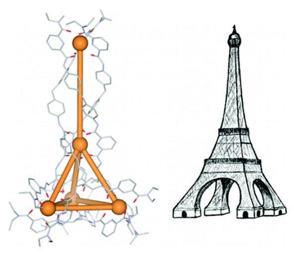 Chemischer Eiffelturm