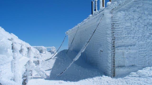 1. Der Ort des extremsten Wetters: Mount Washington