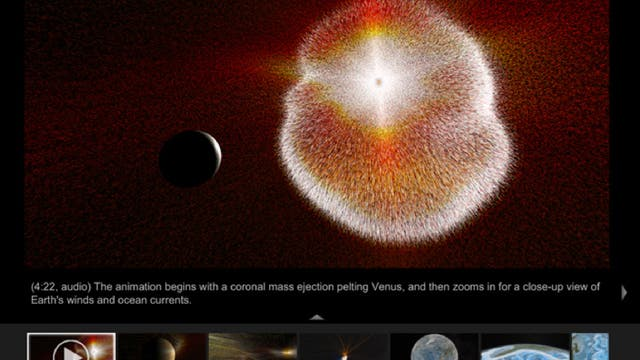 "Der NASA ""Visualization Explorer"" 1.8"