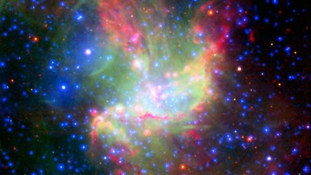 Die Sternentstehungsregion NGC 346