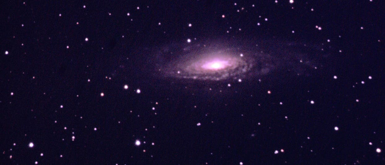 Die Spiralgalaxie NGC 7331 im Sternbild Pegasus