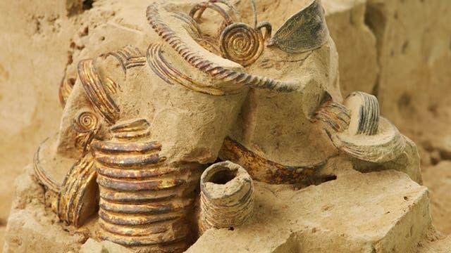 Ein Sack voll bronzezeitlichem Gold auf freier Flur