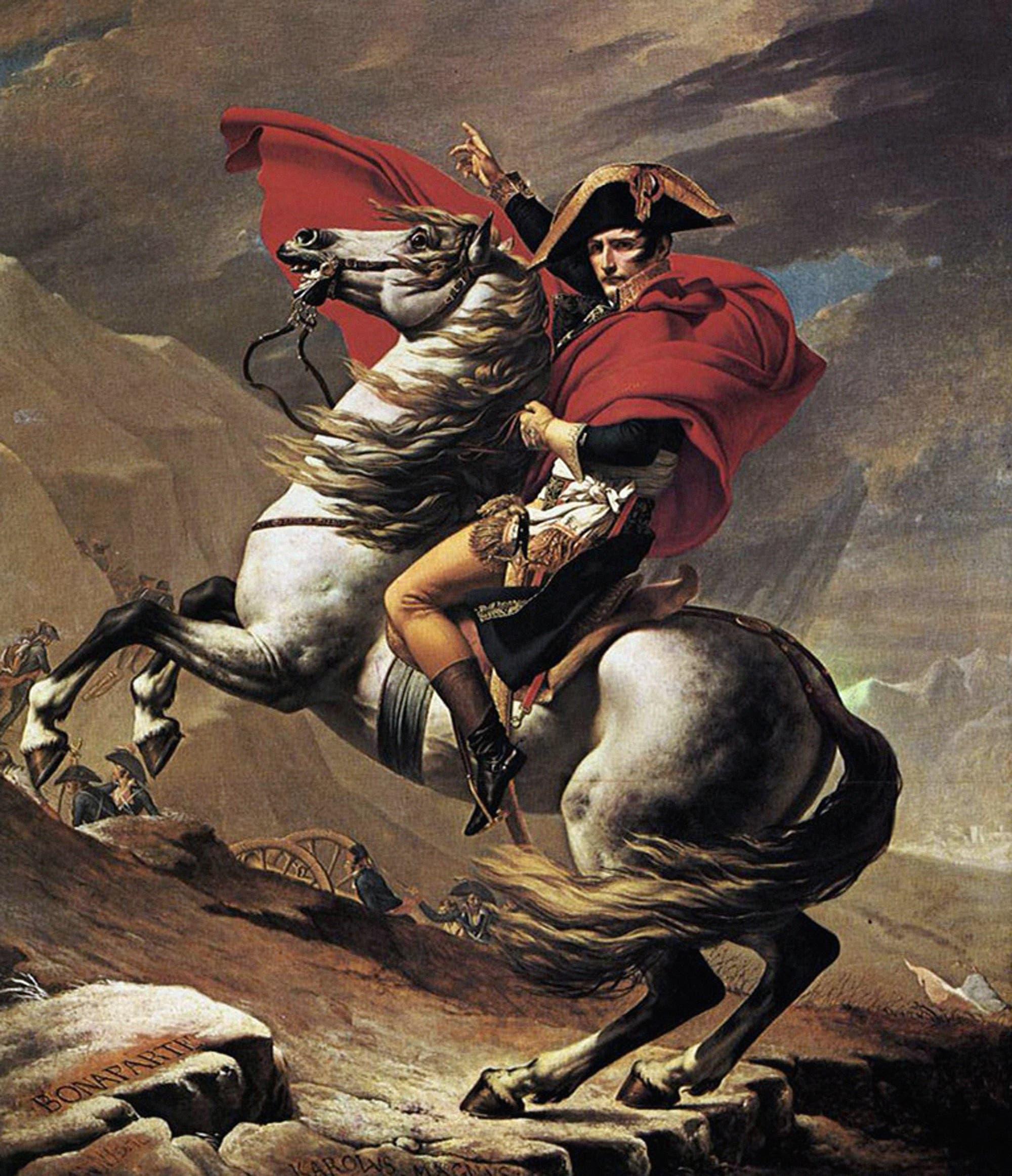 Napoleon hoch zu Ross