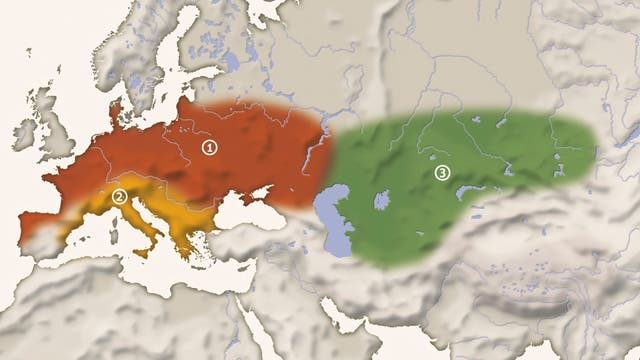 Verbreitungsgebiet Neandertaler