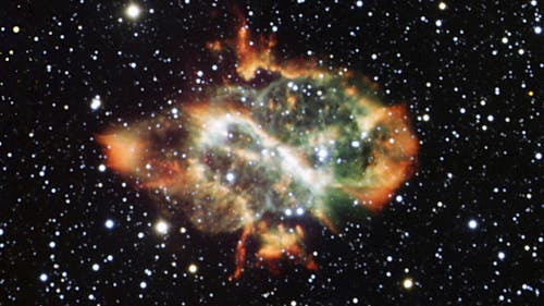 Der Planetarische Nebel NGC 5189 im Sternbild Fliege