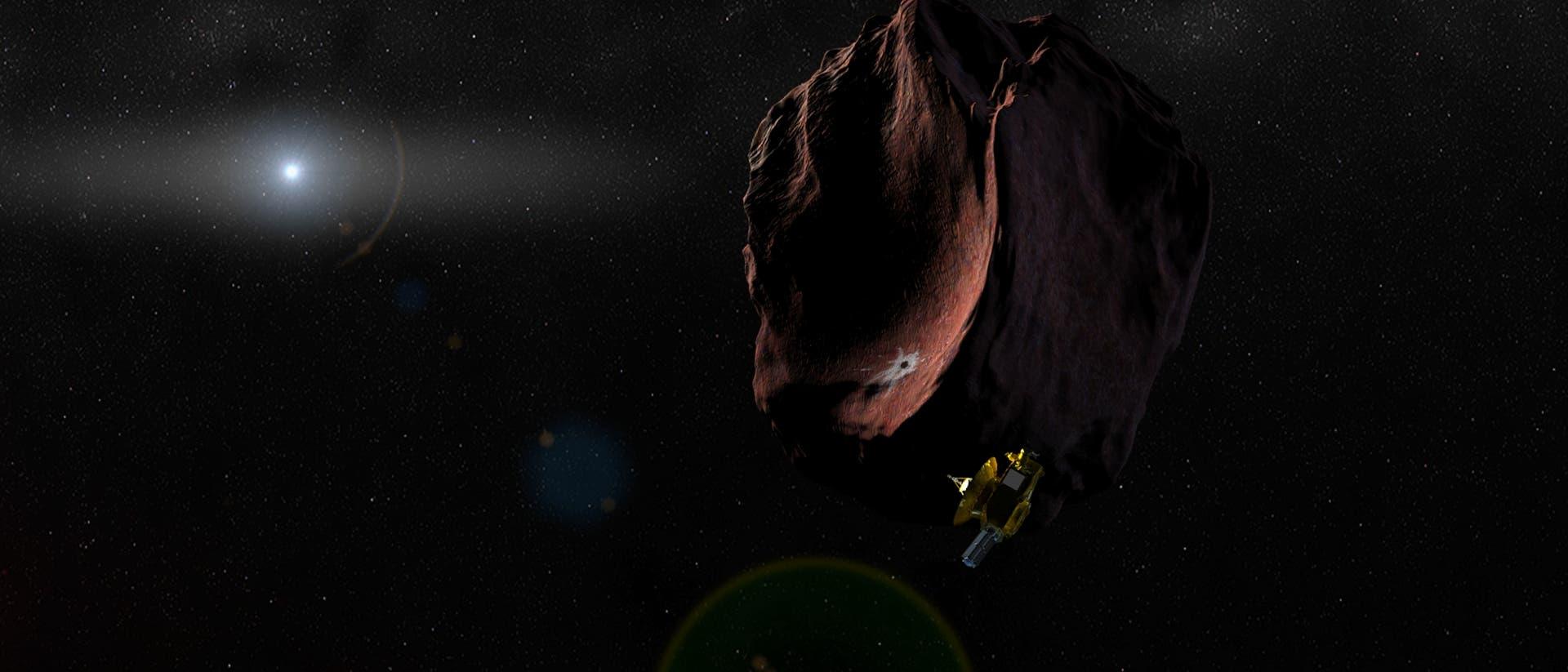 New Horizons im Umfeld von 2014 MU69