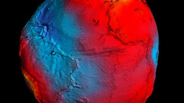 Das neu modellierte Geoid