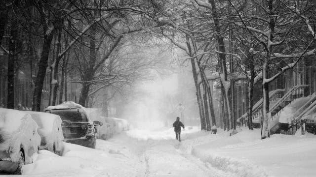 Blizzard in New York (Symbolbild)