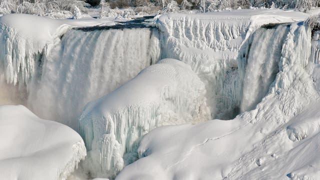 Vereiste Niagarafälle (Archivbild)