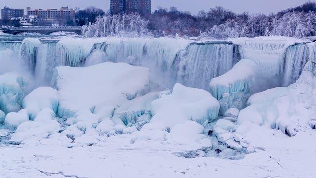 Niagarafälle im Winter (Januar 2017)