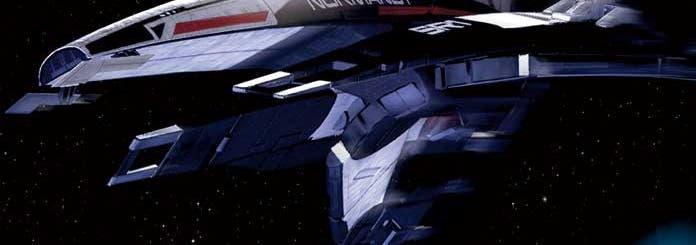 Die Normandy aus »Mass Effect«
