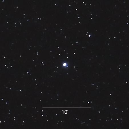 Nova Delphini bei 5,0 mag am 15. August 2013