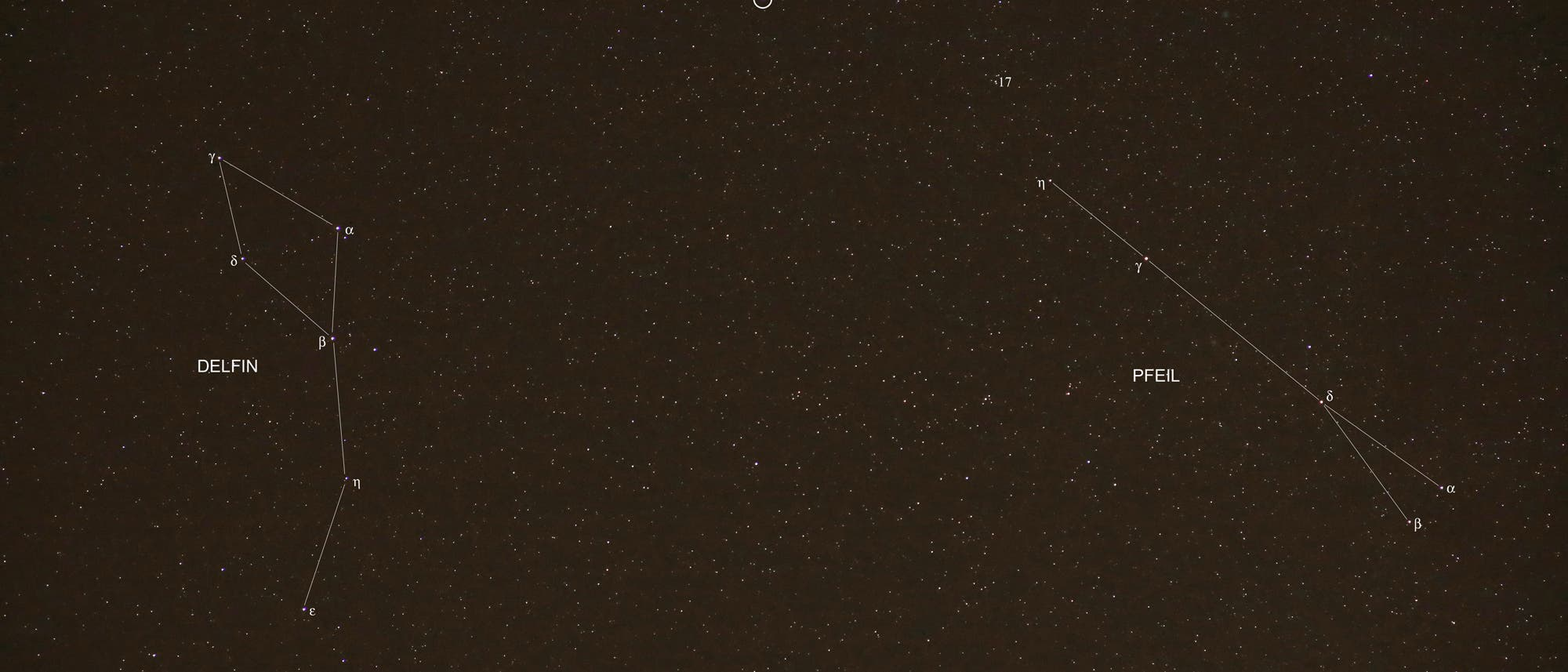 Nova Delphini 2013 Übersicht