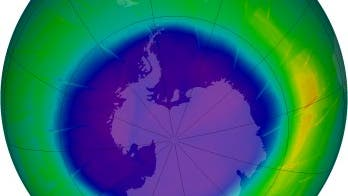 Ozonloch im September 2009