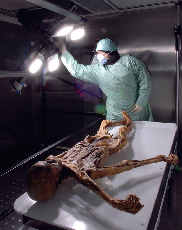 Um Ötzi seine letzten Geheimnisse