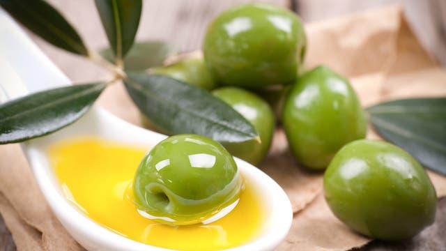 Oliven und Öl
