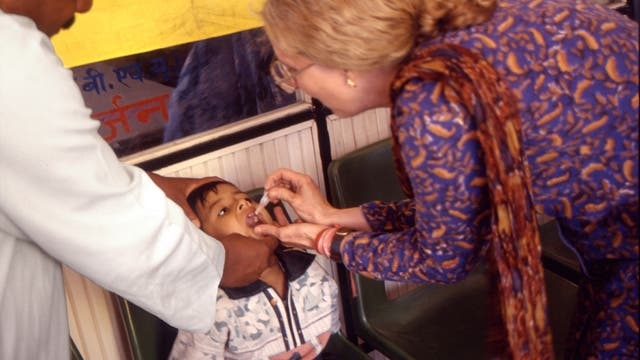 Polio-Impfung
