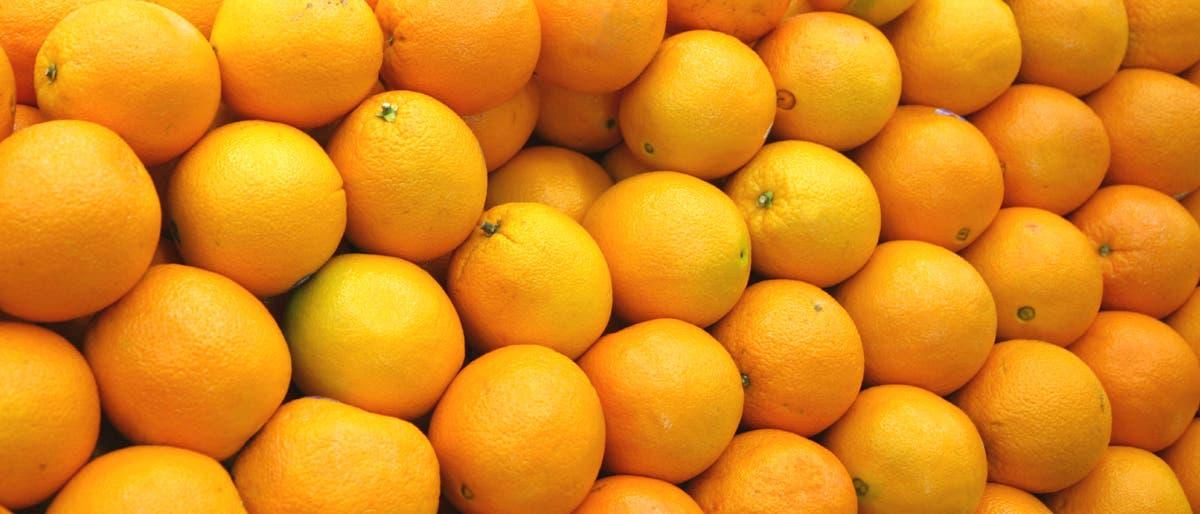 Orangenstapel