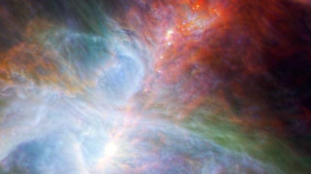 Ein Blick in das Herz des Orion-Nebels