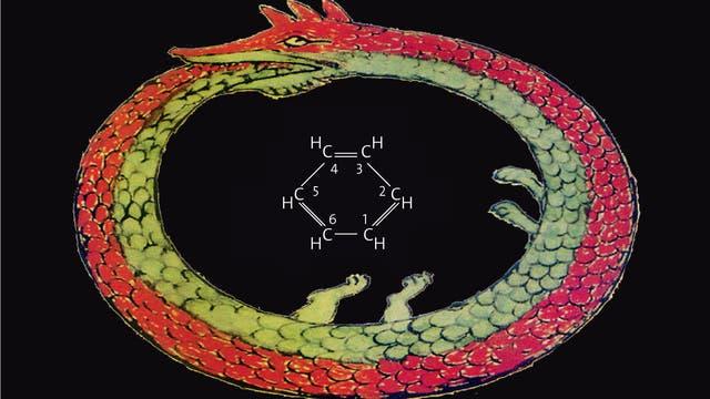 Ouroboros mit Benzolformel