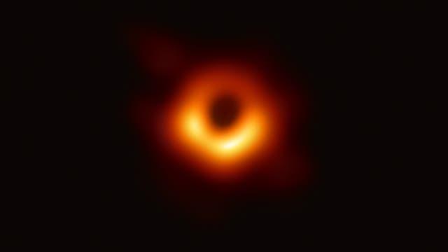 Das ist das Schwarze Loch