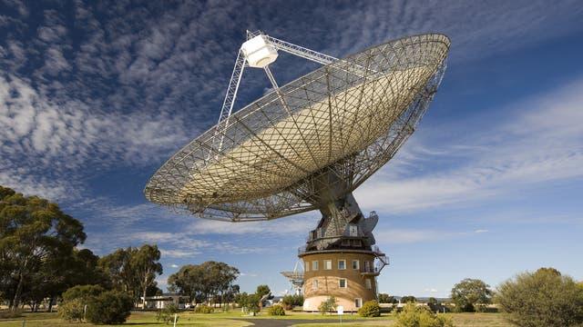 Das 64-Meter-Radioteleskop von Parkes, Australien