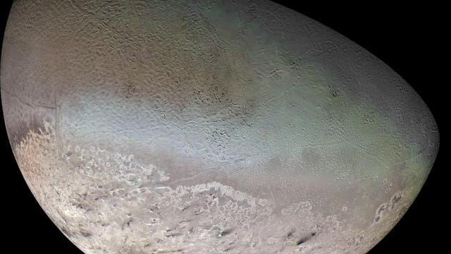 Fotomosaik von Triton