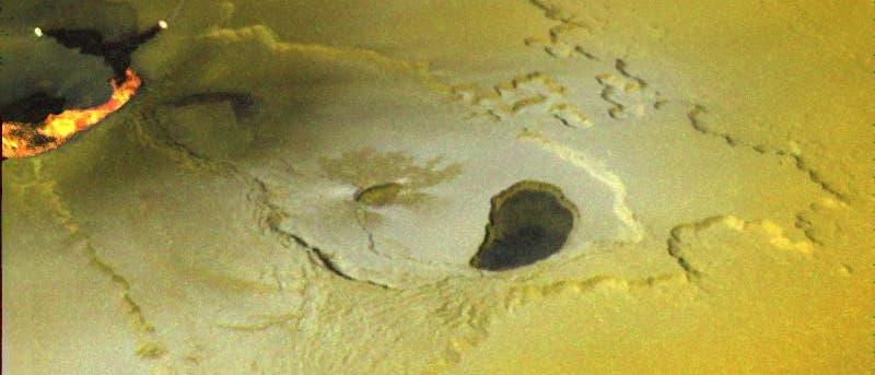 Vulkanausbruch auf Jupitermond Io