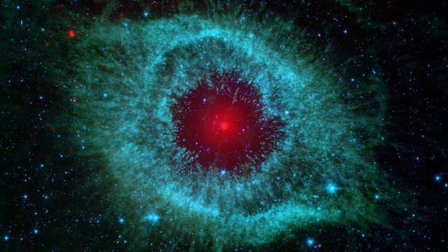 Helix-Nebel (Infrarotbild des NASA Spitzer Space Telescope)